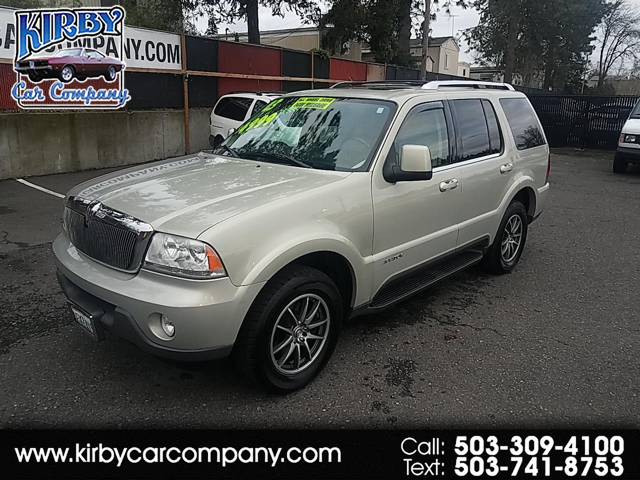 2003 Lincoln Aviator Luxury AWD LO MILES! EVERY OPTION! CLEAN TITLE!