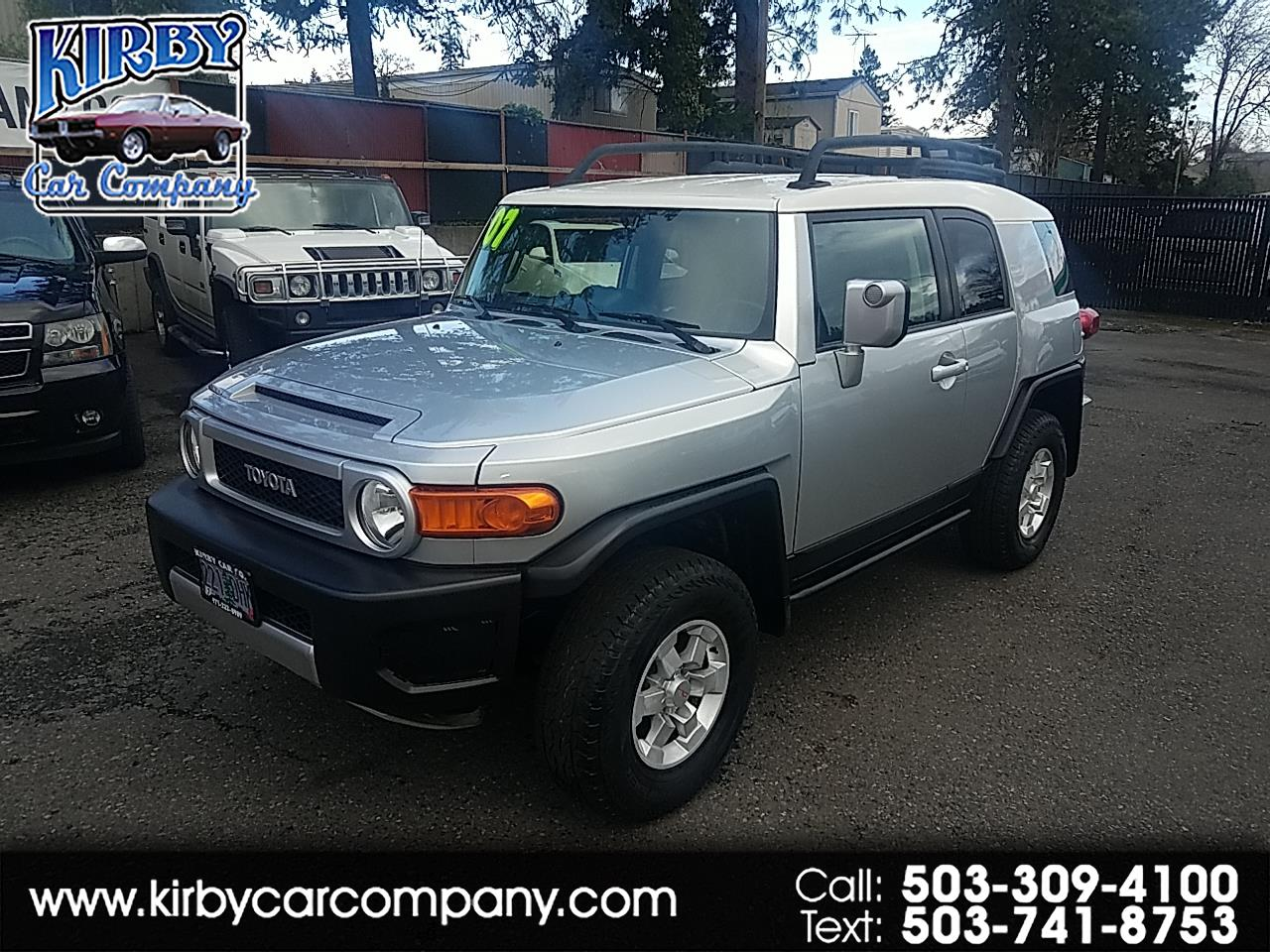 2007 Toyota FJ Cruiser  for sale VIN: JTEBU11F770094406