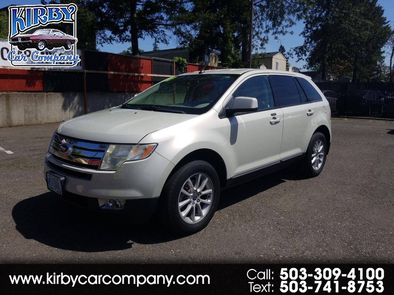 2007 Ford Edge SEL AWD NAV!  DVD! HEATED LEATHER! CLEAN TITLE!