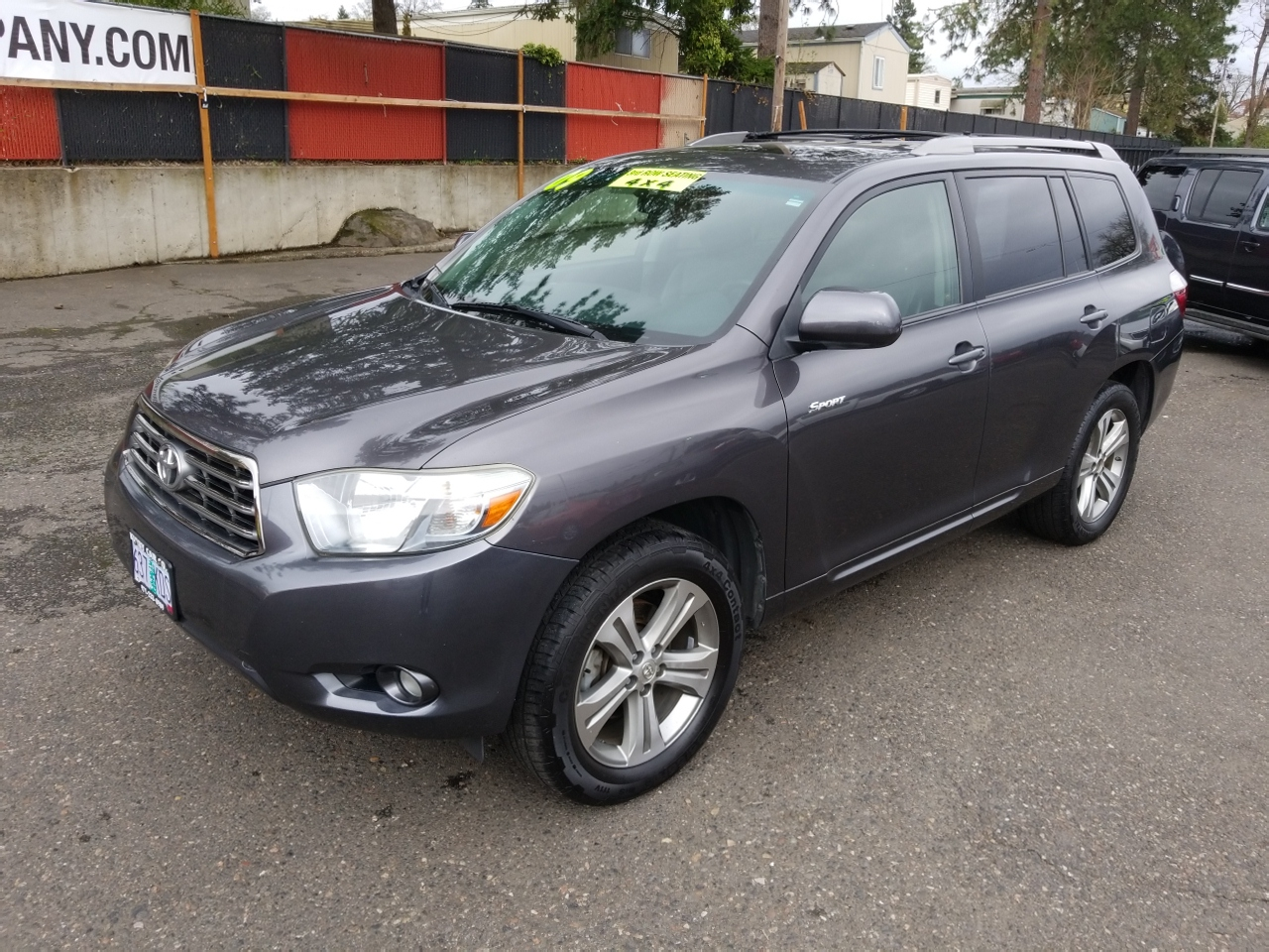 2009 Toyota Highlander Sport 4WD LEATHER! NAV! BACKUP CAM! 3RD SEAT! WOW!
