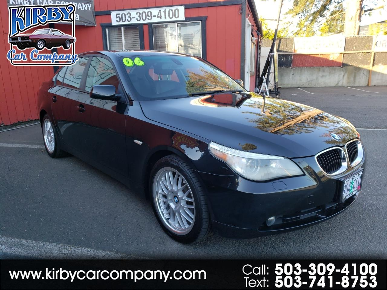 2006 BMW 5-Series 525xi AWD EVERY OPT!! ONE OWNERI!