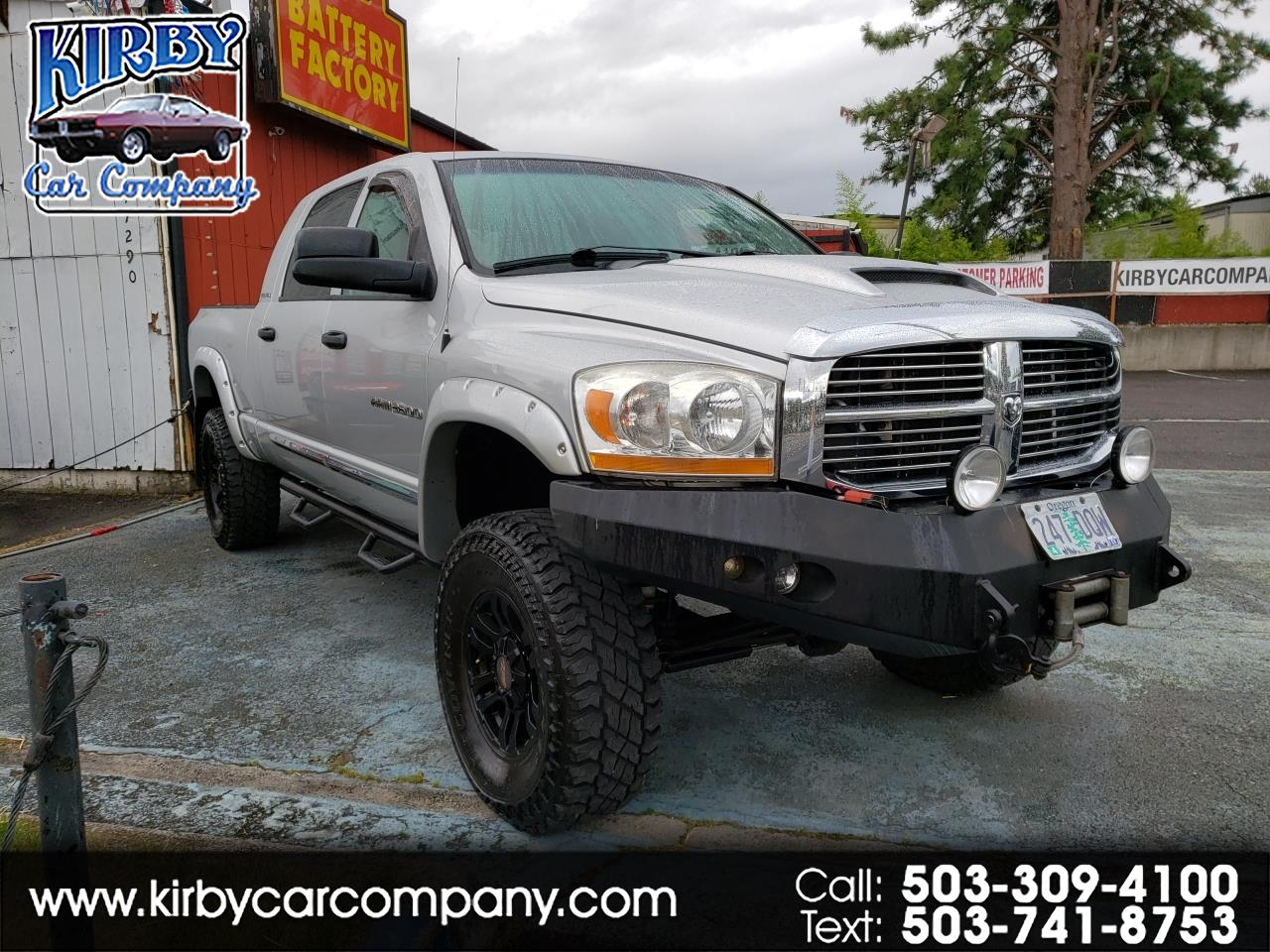 2006 Dodge Ram 3500 Laramie Mega Cab 4WD Diesel LIFTED  CHIPPED  37's!