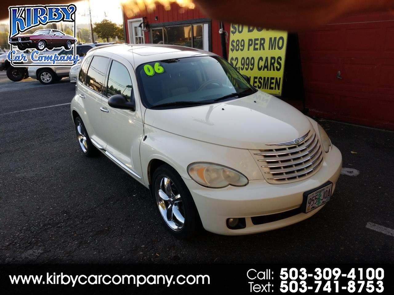 2006 Chrysler PT Cruiser GT Auto  Leather  Moon  Mags  Spoiler  113K