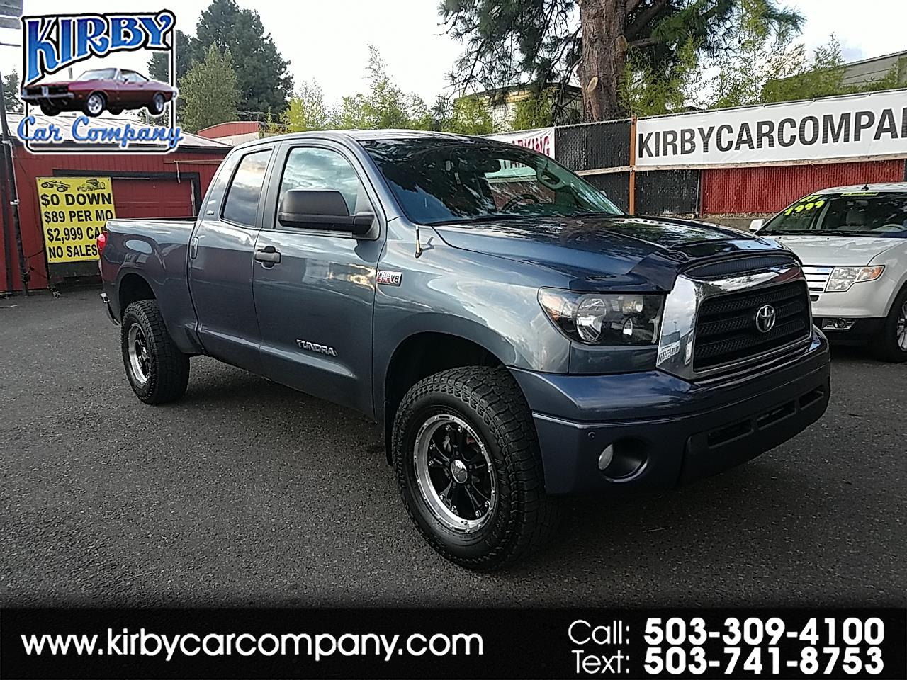 2007 Toyota Tundra SR5 Double Cab 6-sp Auto 4WD TRD Off-Road Hot WHEE