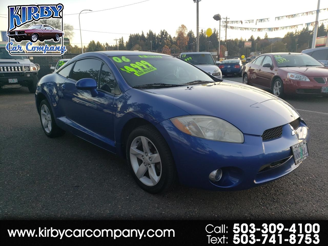2006 Mitsubishi Eclipse 2dr Spyder GT 6-sp Manual LOW MILES!  HOT MAGS!  S