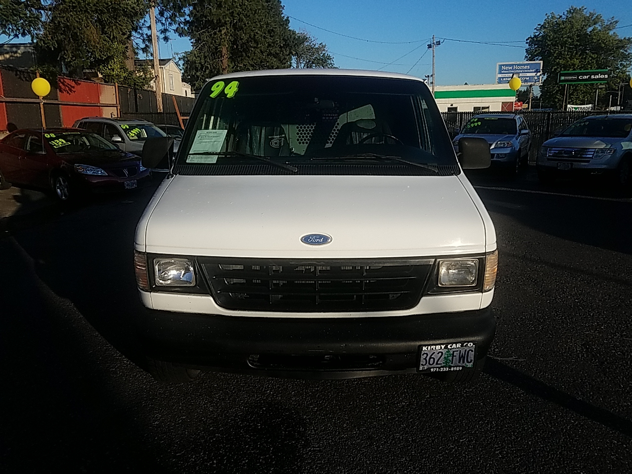 1994 Ford Econoline E150 EXTENDED CARGO VAN SAFETY CAGE!  HOT MAGS!