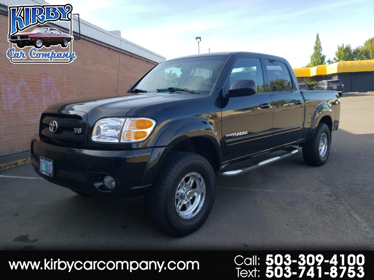 2004 Toyota Tundra Limited Double Cab SR5 TRD Off-Road Pkg Leather Lo