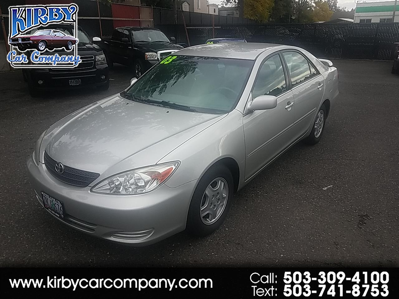2003 Toyota Camry LE V6 SEDAN LOW MILES!  28 MPG!  ONE OWNER!
