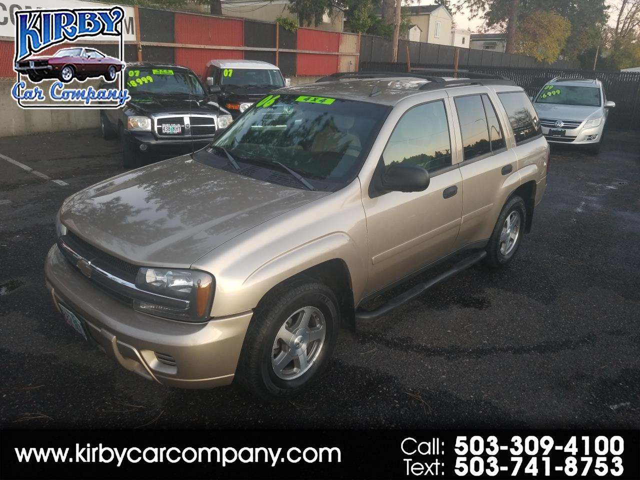 2006 Chevrolet TrailBlazer LS 4WD  PERFECT MAINT RECORDS!!  SPOTLESS!!  CLEAN