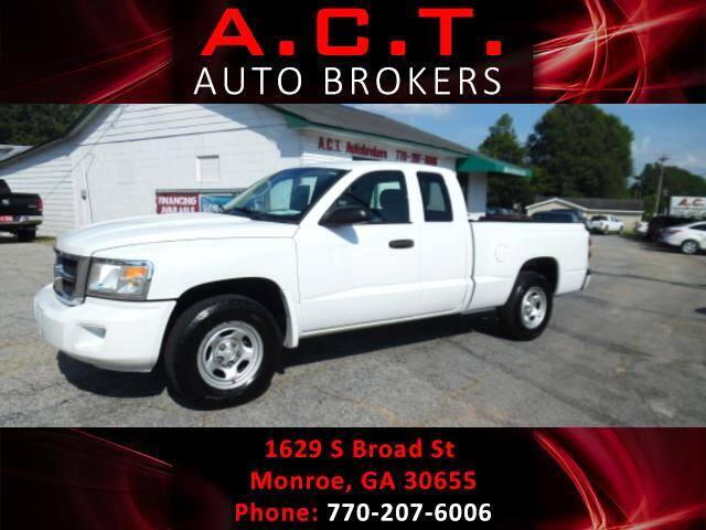 2010 Dodge Dakota 2WD Ext Cab ST