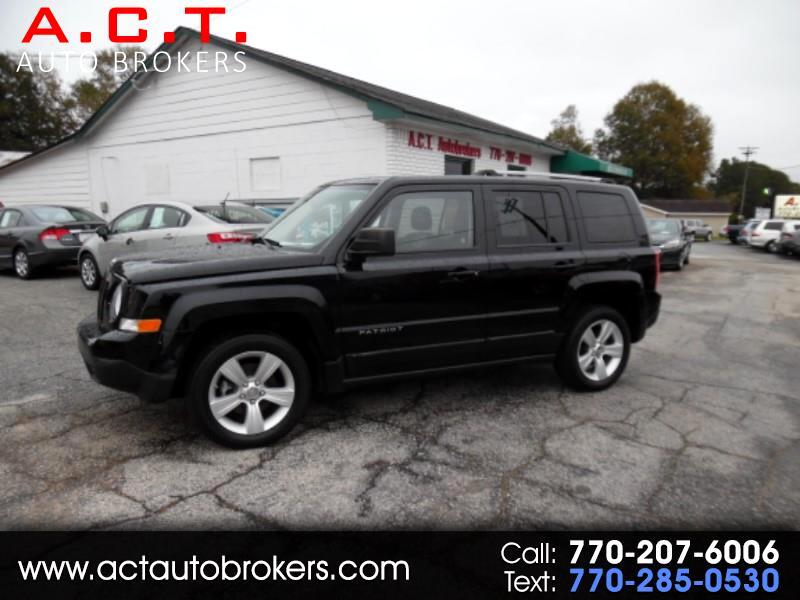 2012 Jeep Patriot FWD 4dr Limited