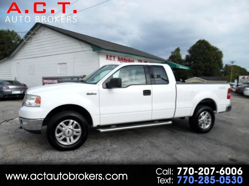"2004 Ford F-150 Supercab 145"" Lariat 4WD"