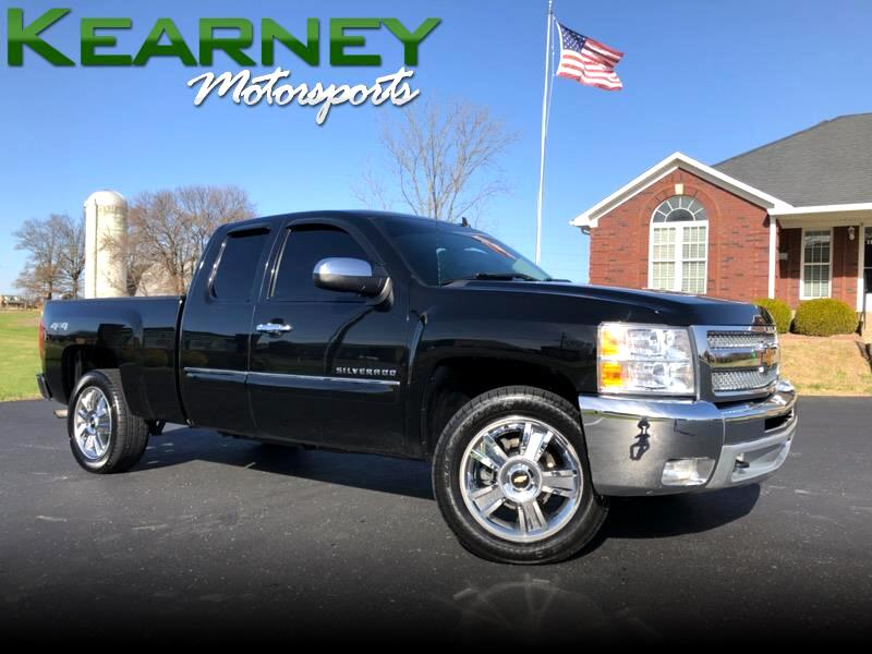 2013 Chevrolet Silverado 1500 Z71 Ext. Cab Short Bed 4WD