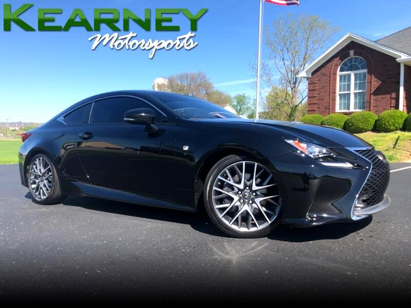 2015 Lexus RC 350 AWD FSPORT