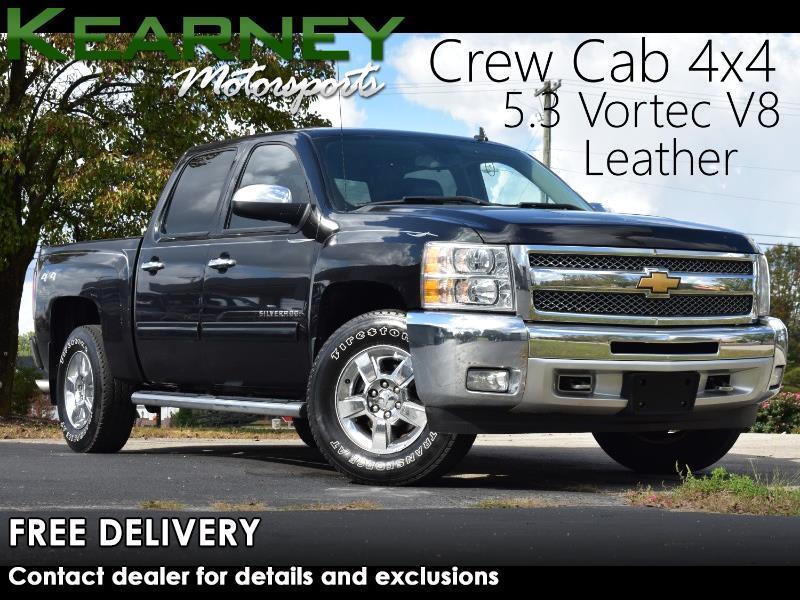 Chevrolet Silverado 1500 LT Crew Cab 4WD 2012