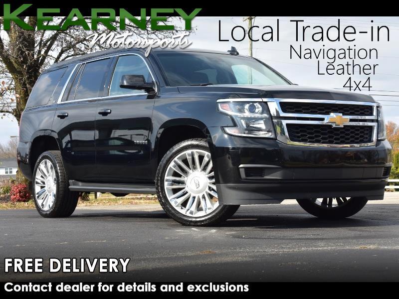 Chevrolet Tahoe LT 4WD 2017