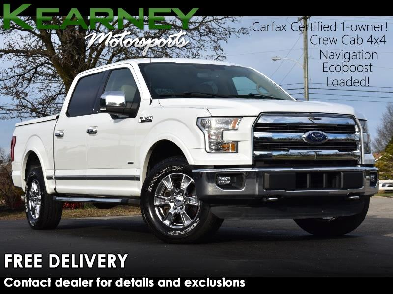 Ford F-150 Lariat SuperCrew 4WD 2015