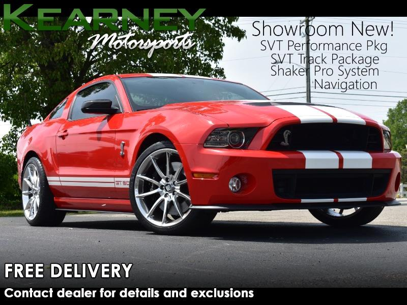 Ford Shelby GT500 Coupe 2013