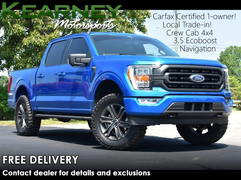 Ford F-150 XLT SuperCrew 5.5-ft. Bed 4WD 2021