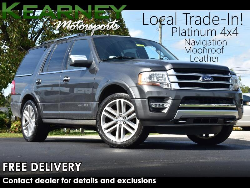 Ford Expedition Platinum 4WD 2017