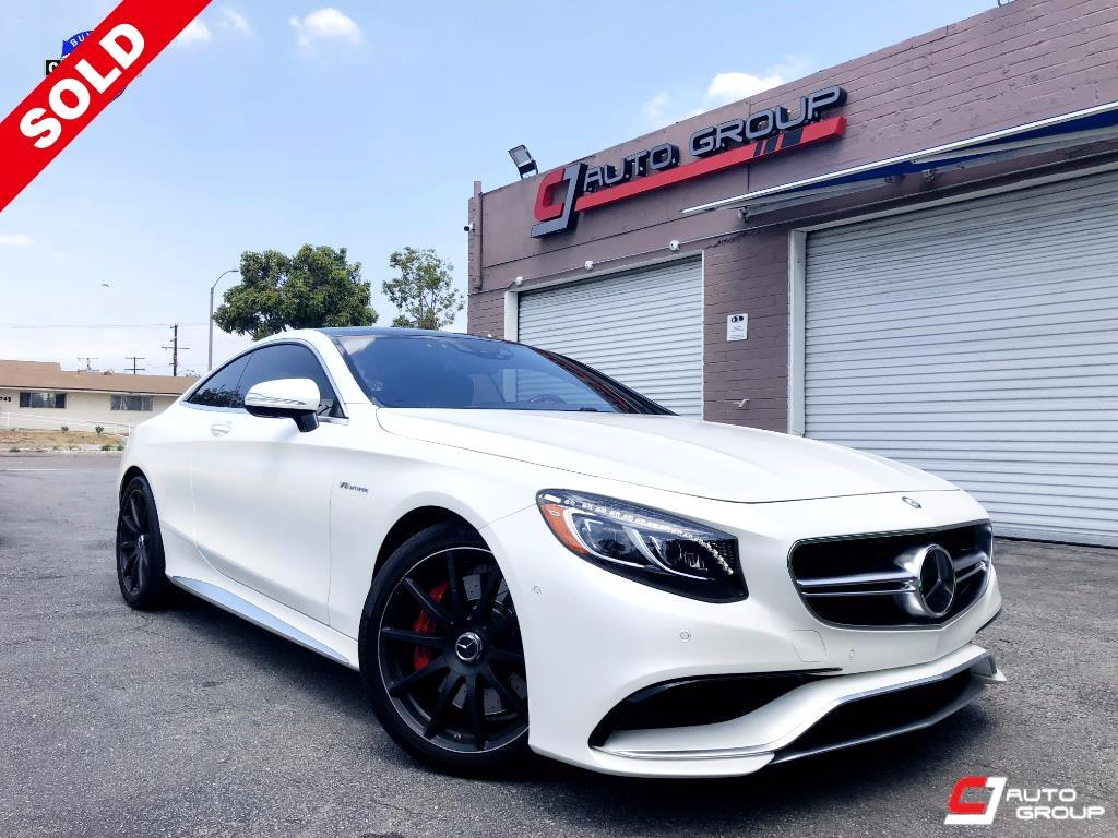 2016 Mercedes-Benz S-Class S63 AMG 4MATIC Coupe