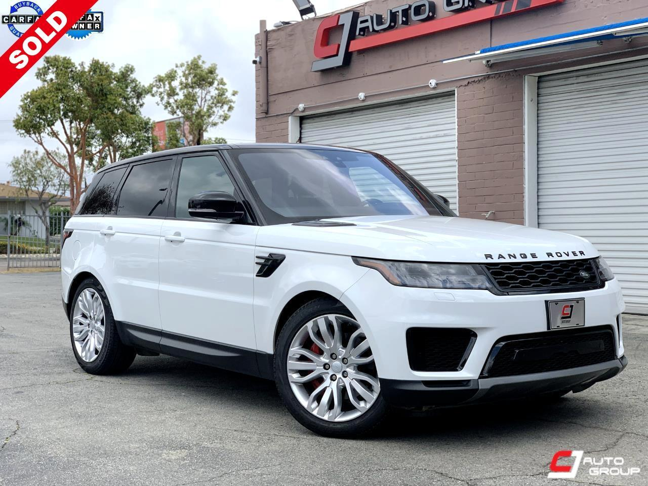 Land Rover Range Rover Sport Sport SE 2019