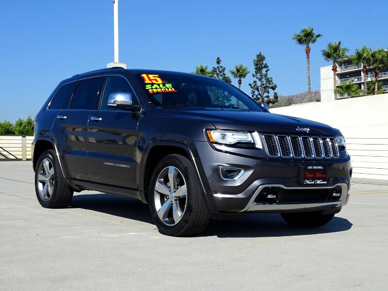 2015 Jeep Grand Cherokee Overland 2WD