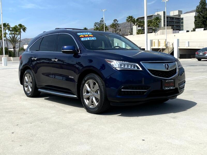 Acura MDX SH-AWD 6-Spd AT w/Advance Package 2014