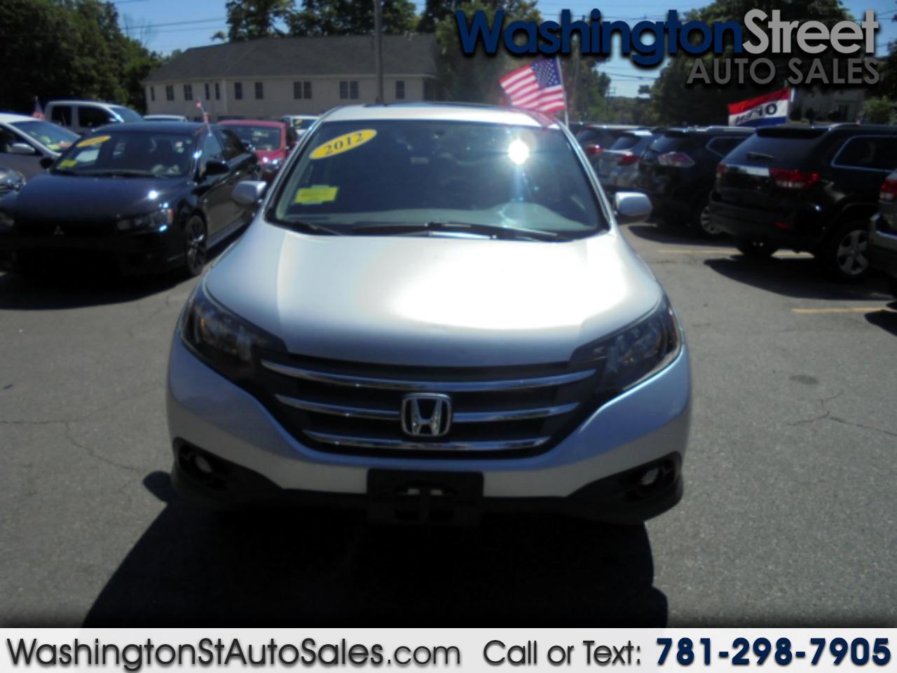 Honda CR-V EX 4WD 5-Speed AT 2012