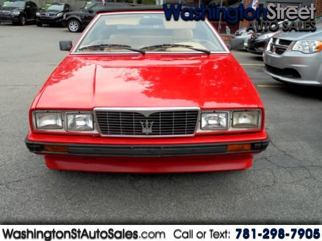 1986 Maserati Spyder Base