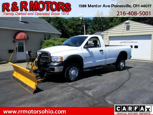 2005 Dodge Ram 2500 ST Long Bed 4WD
