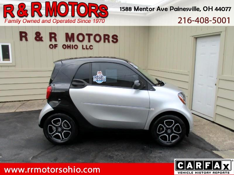 2016 smart Fortwo Prime Coupe