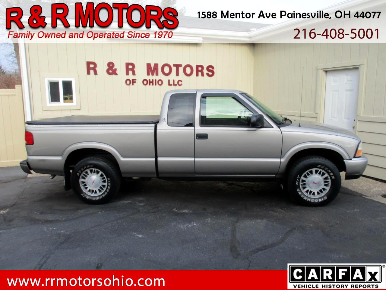 2001 GMC Sonoma SLS Ext. Cab Short Bed 4WD