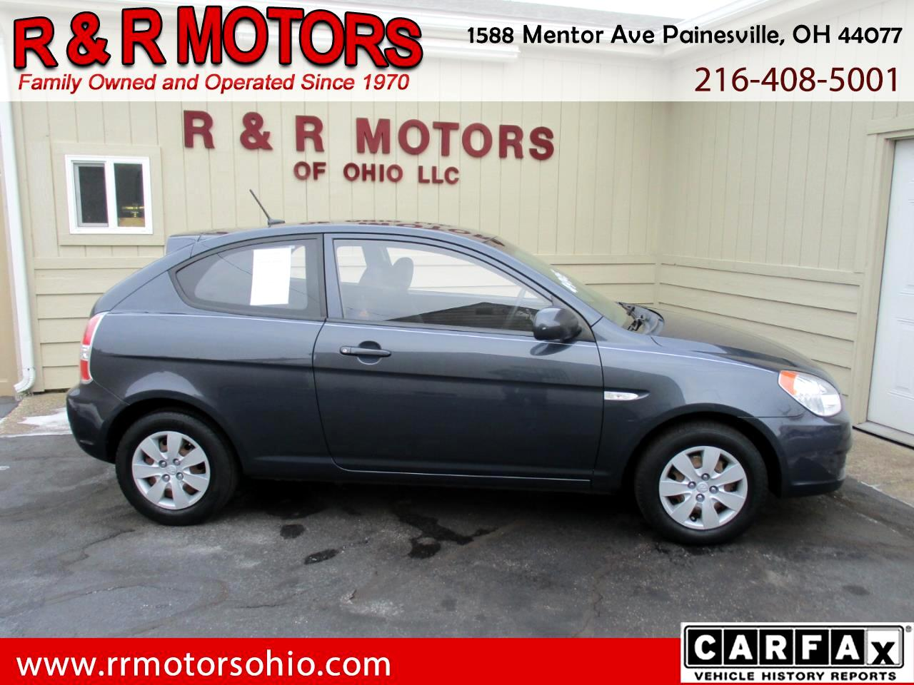 2010 Hyundai Accent GS 3-Door