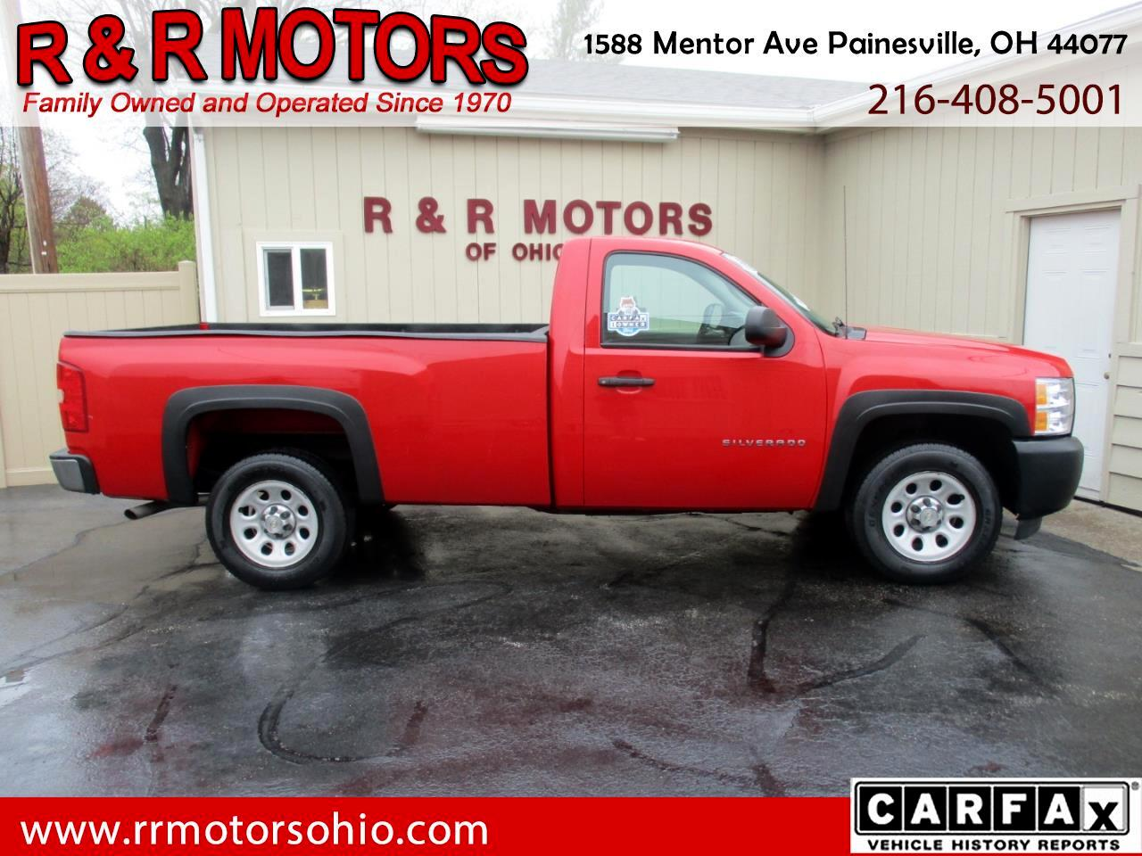 2013 Chevrolet Silverado 1500 Work Truck Long Box 2WD