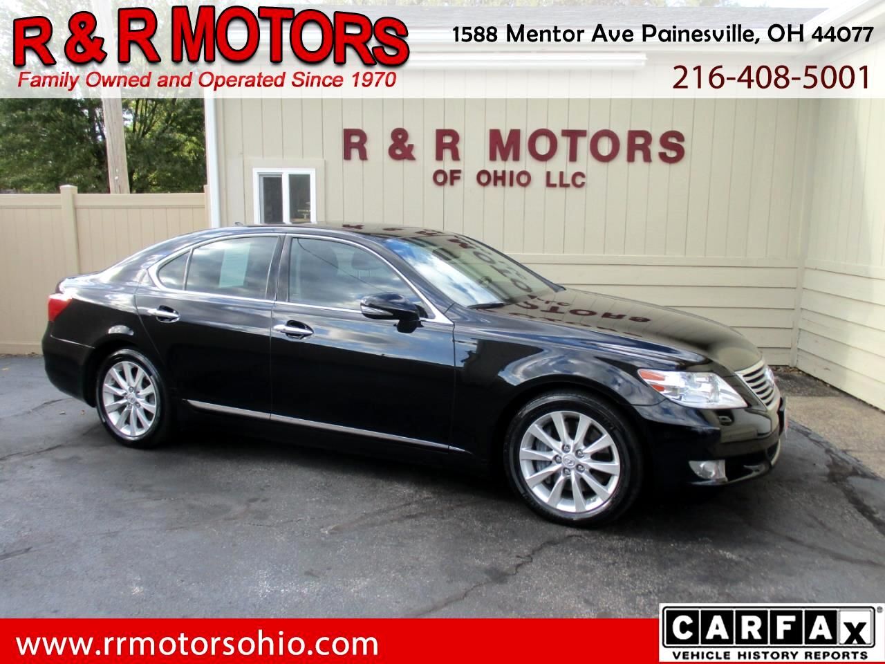 Lexus LS 460 Luxury Sedan AWD 2011