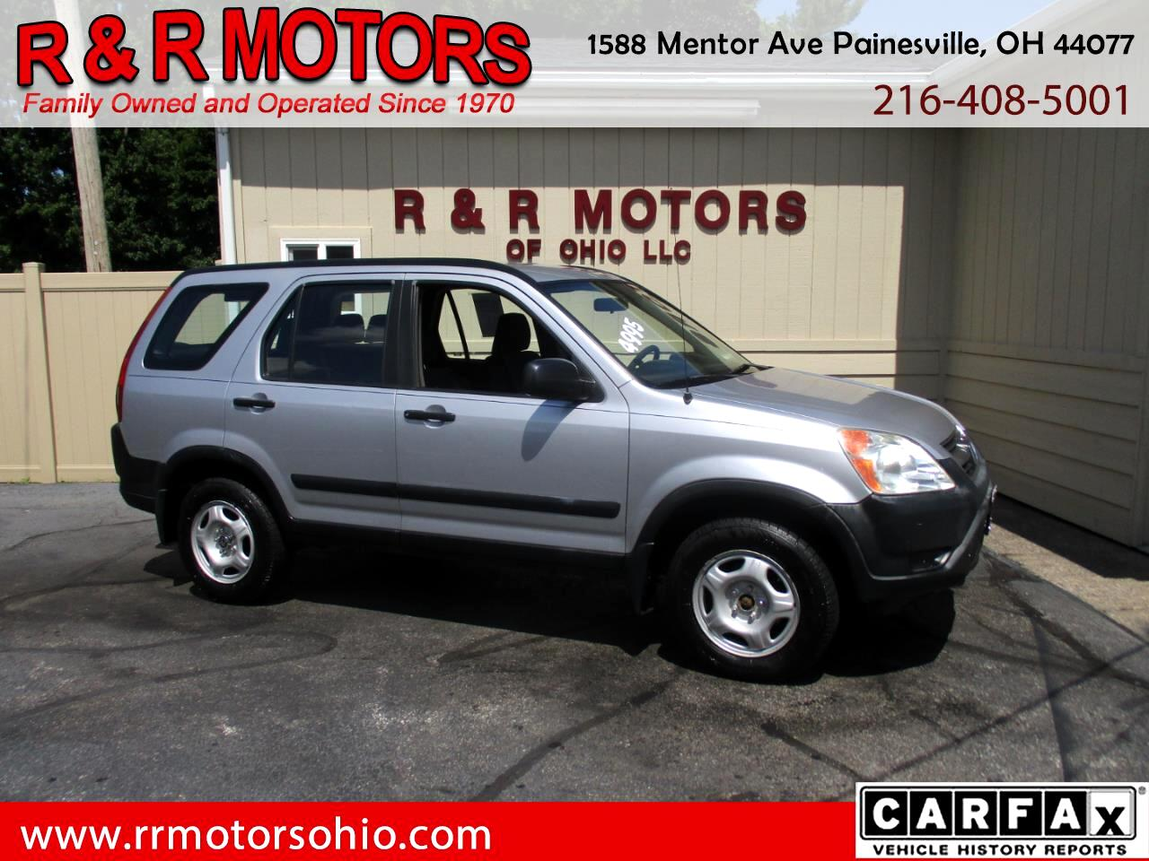 Honda CR-V LX 2WD AT w/ Front Side Airbags 2004