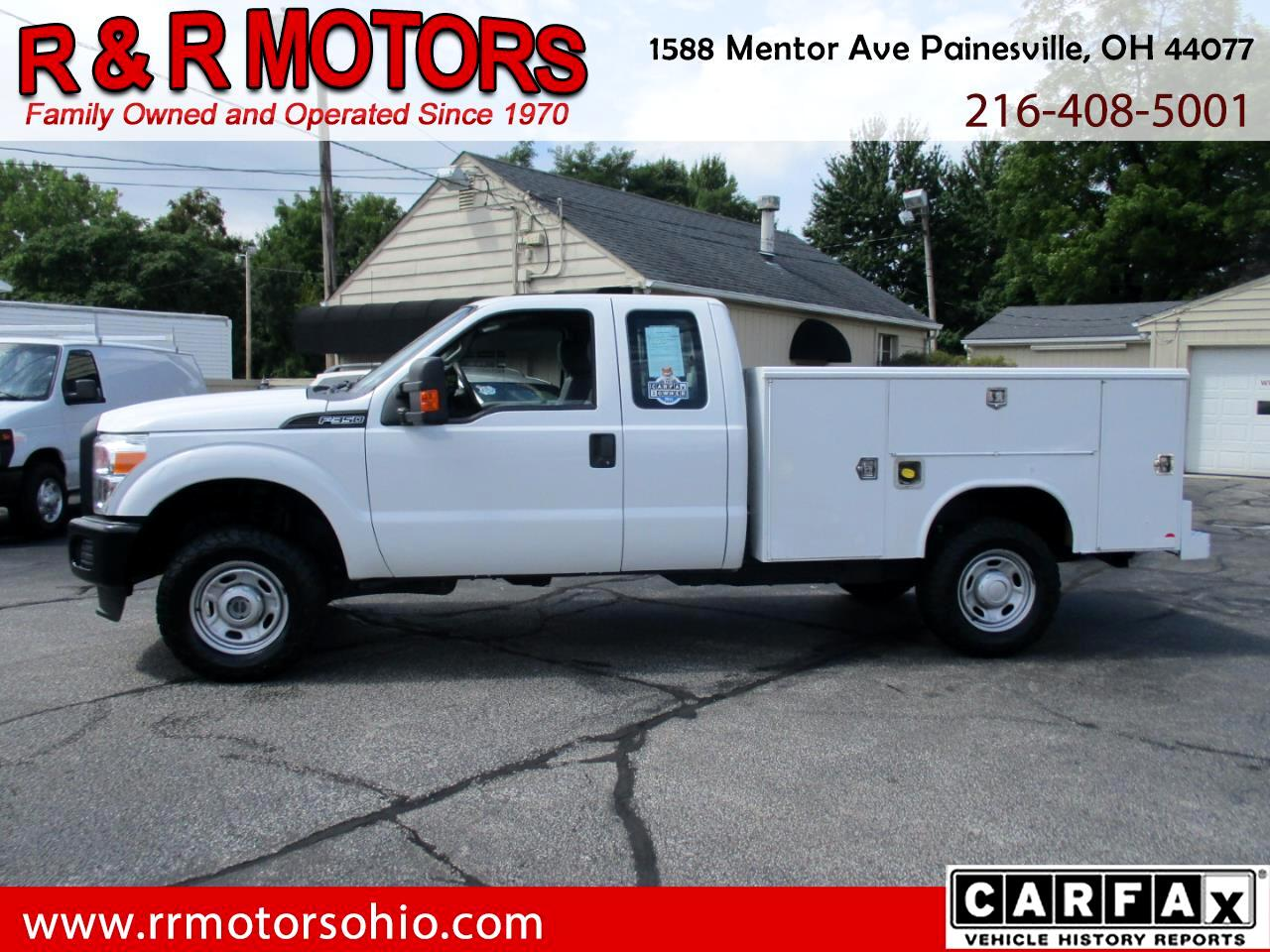 Ford F-350 SD XL SuperCab Long Bed 4WD 2011