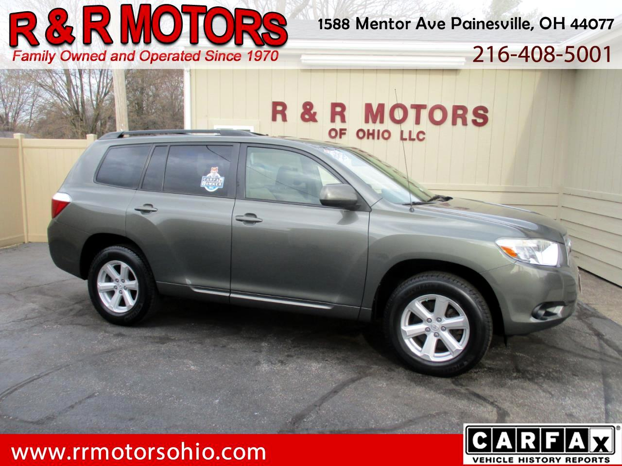 Toyota Highlander Base 2WD V6 2010
