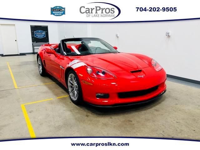 2012 Chevrolet Corvette Grand Sport Convertible 3LT