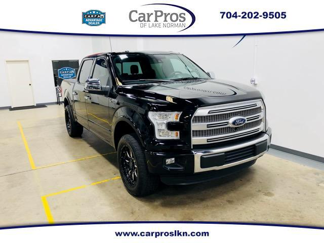 2016 Ford F-150 Platinum SuperCrew 5.5-ft. Bed 2WD