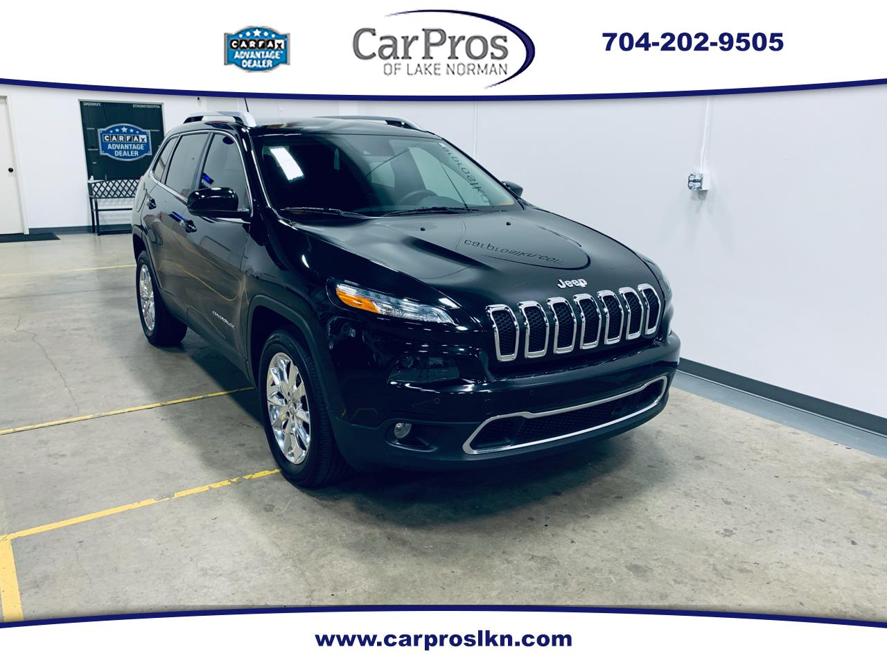 2014 Jeep Cherokee 4WD 4dr Limited