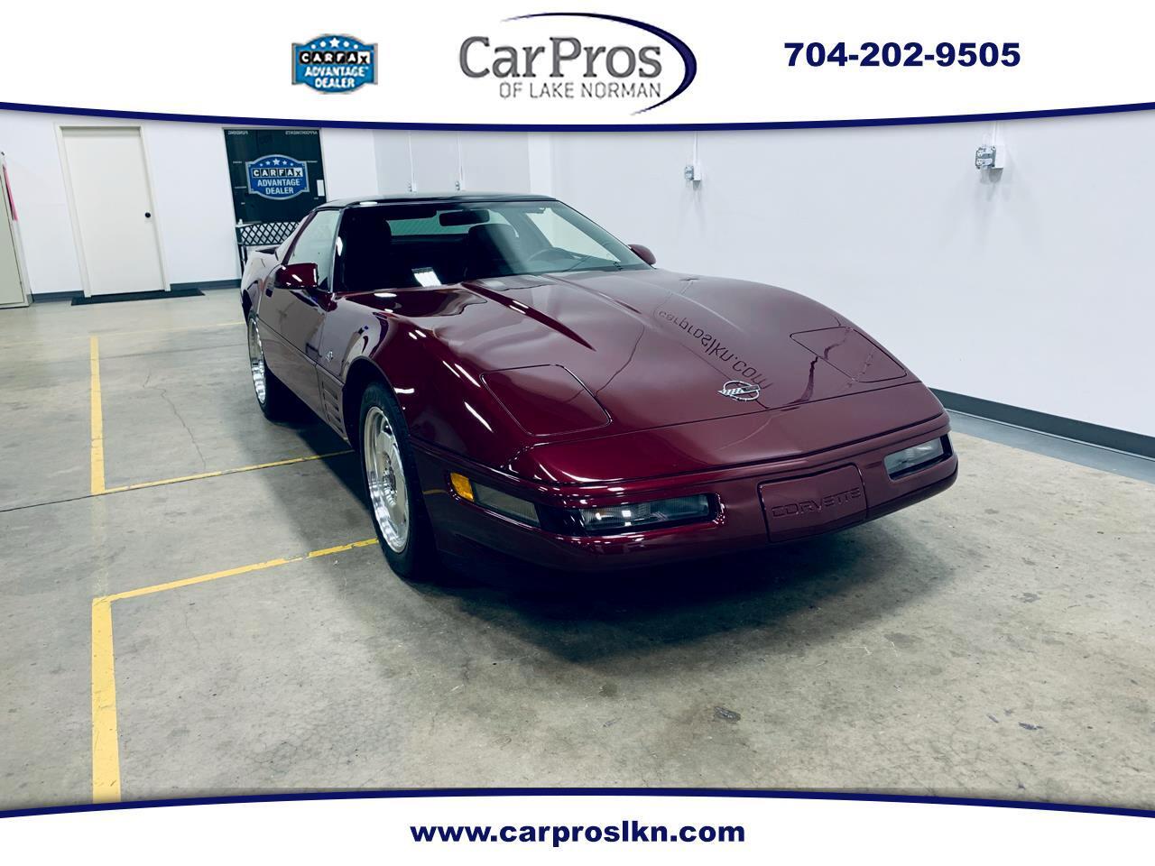 1993 Chevrolet Corvette 40th Anniversary Edition Coupe