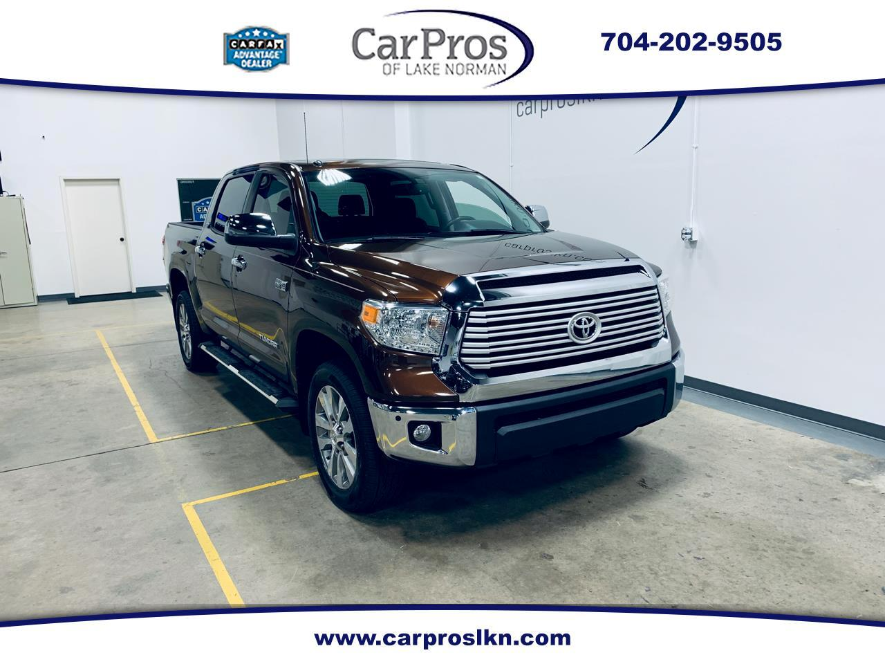 2015 Toyota Tundra 4WD Truck CrewMax 5.7L FFV V8 6-Spd AT LTD (Natl)