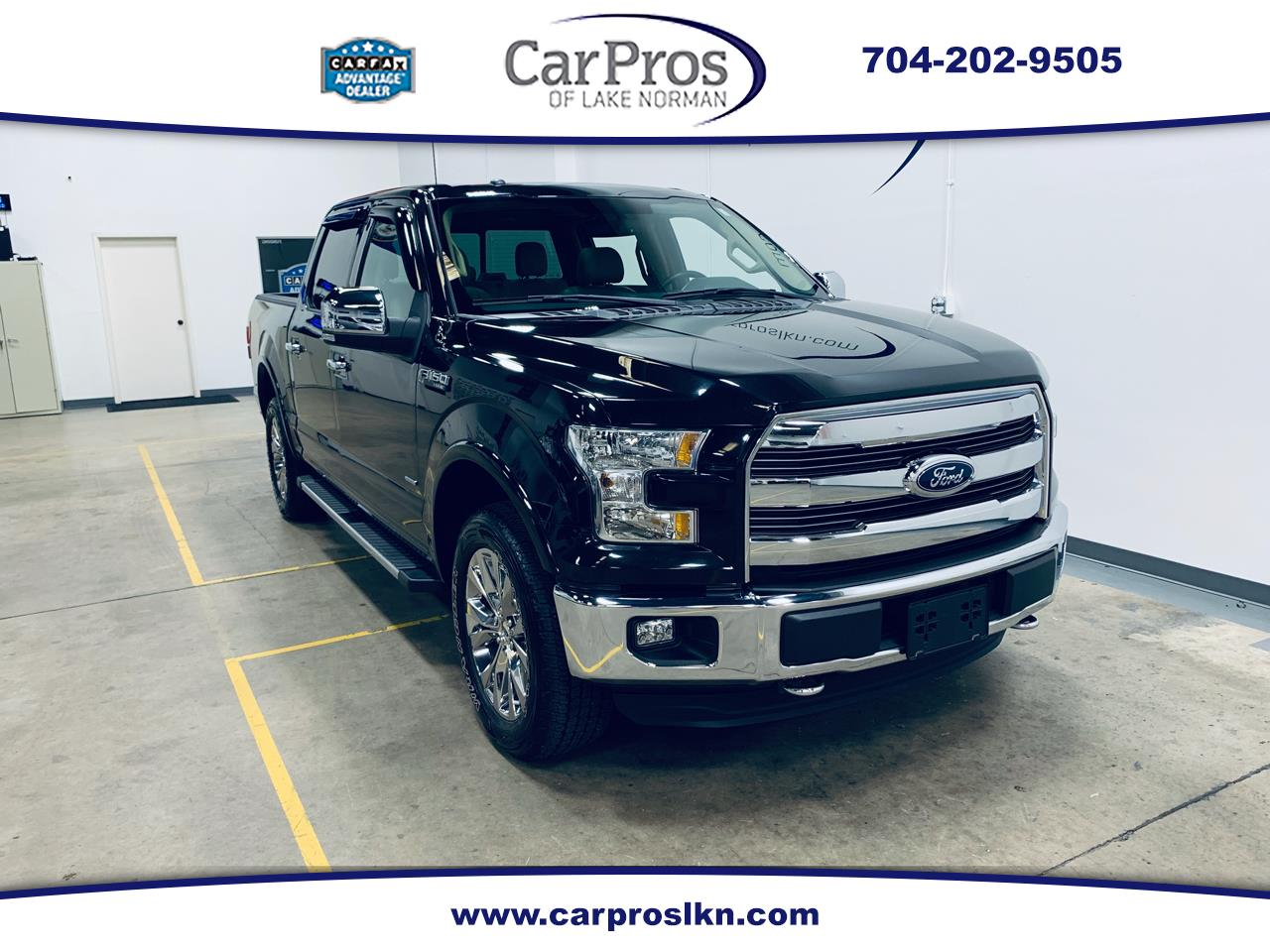 2015 Ford F-150 4WD SuperCrew Lariat FX4