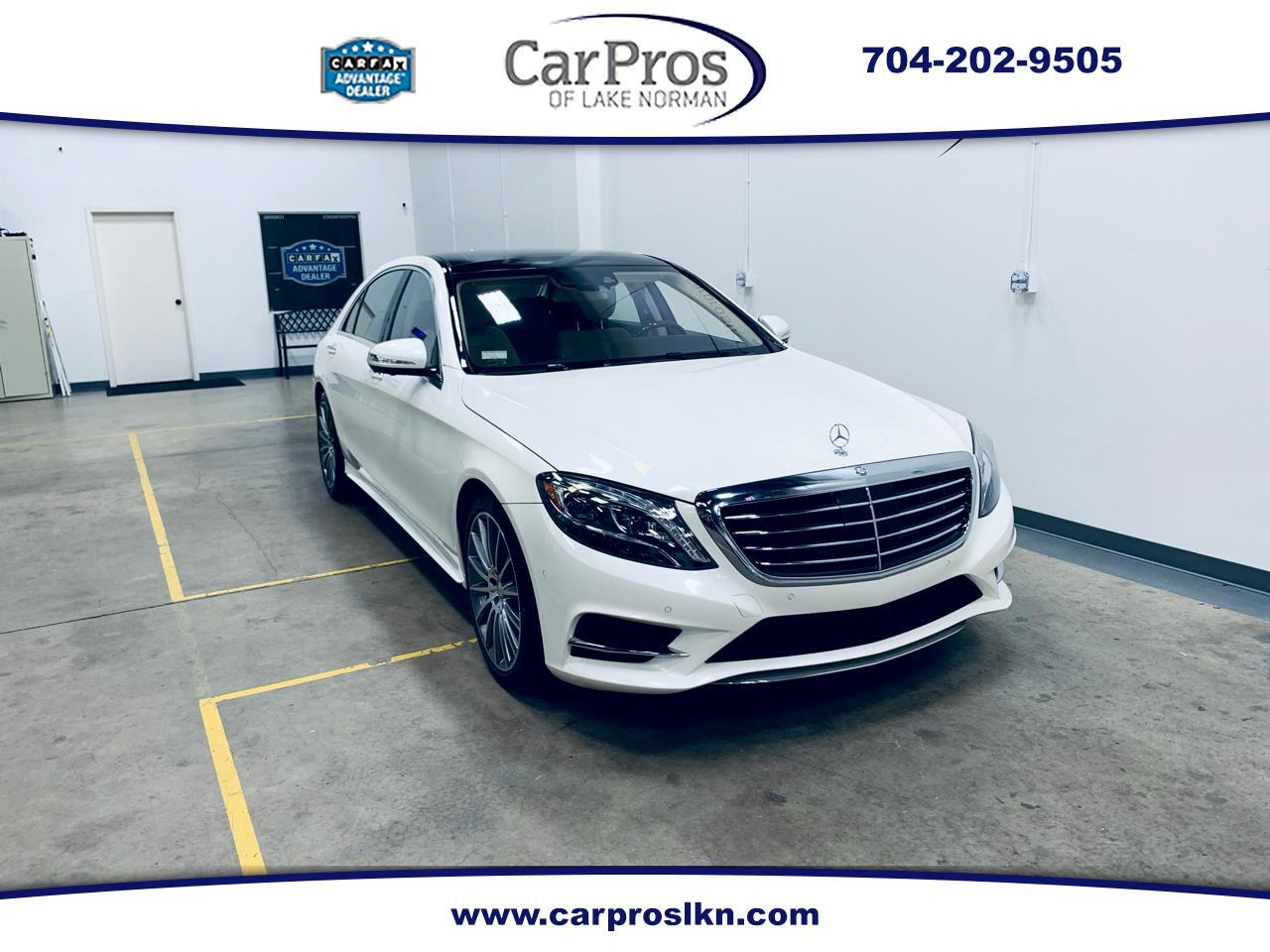 2015 Mercedes-Benz S-Class 4dr Sdn S 550 RWD