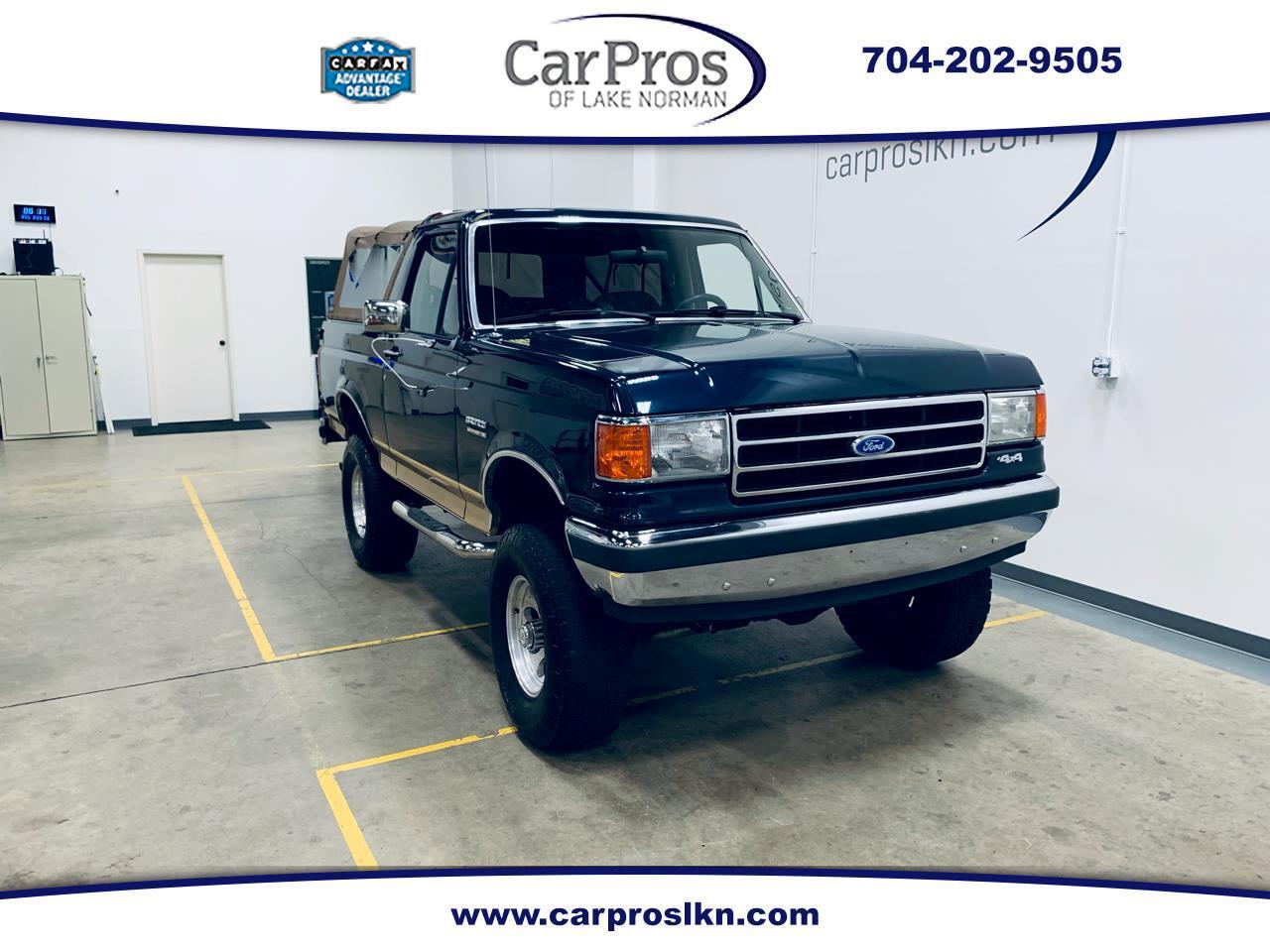 Ford Bronco 2dr Wagon 1989