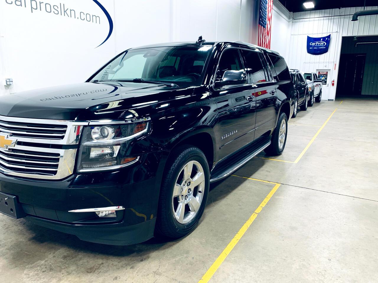 2015 Chevrolet Suburban 4WD 4dr LTZ