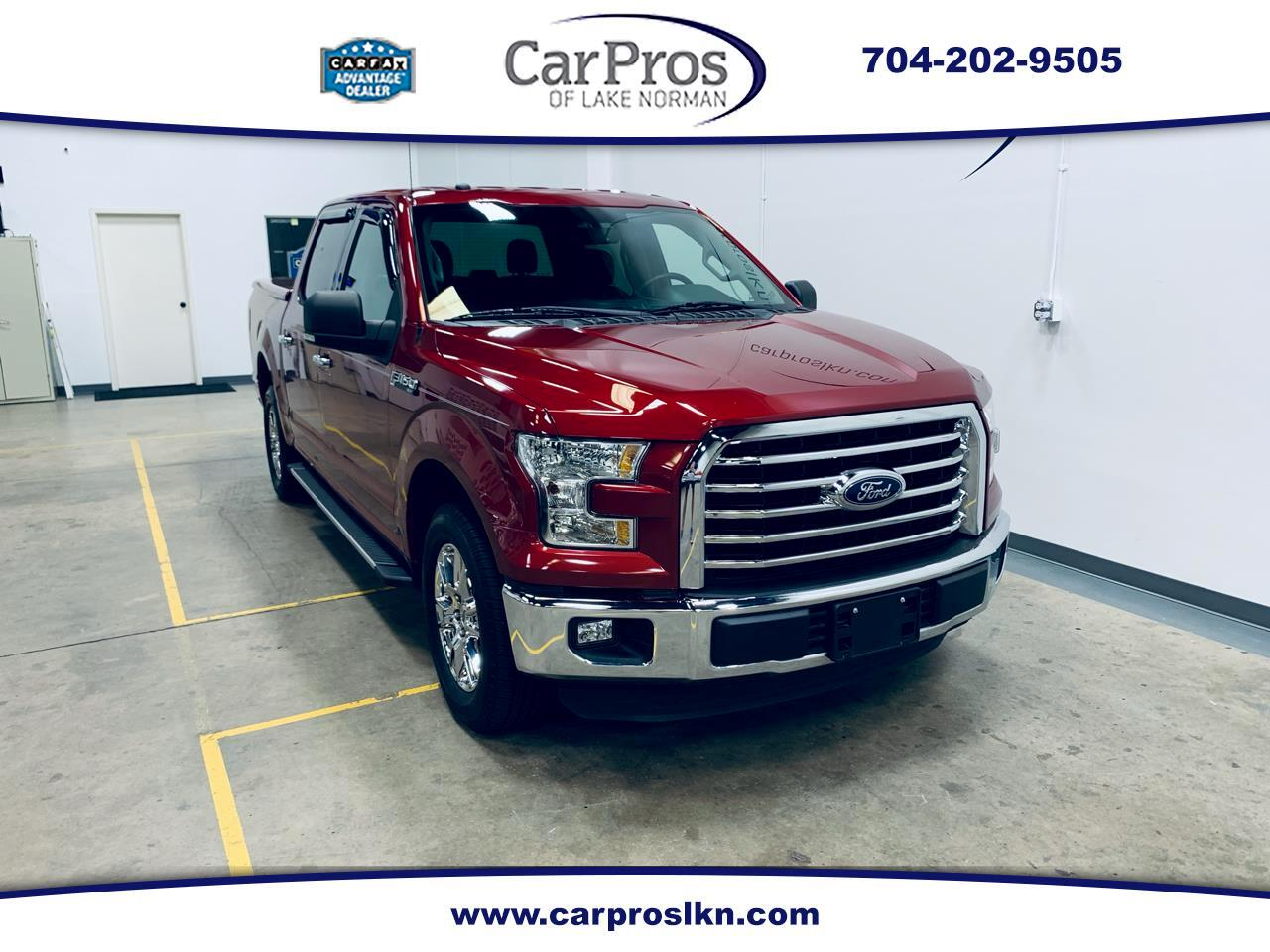2016 Ford F-150 2wd SuperCrew XLT