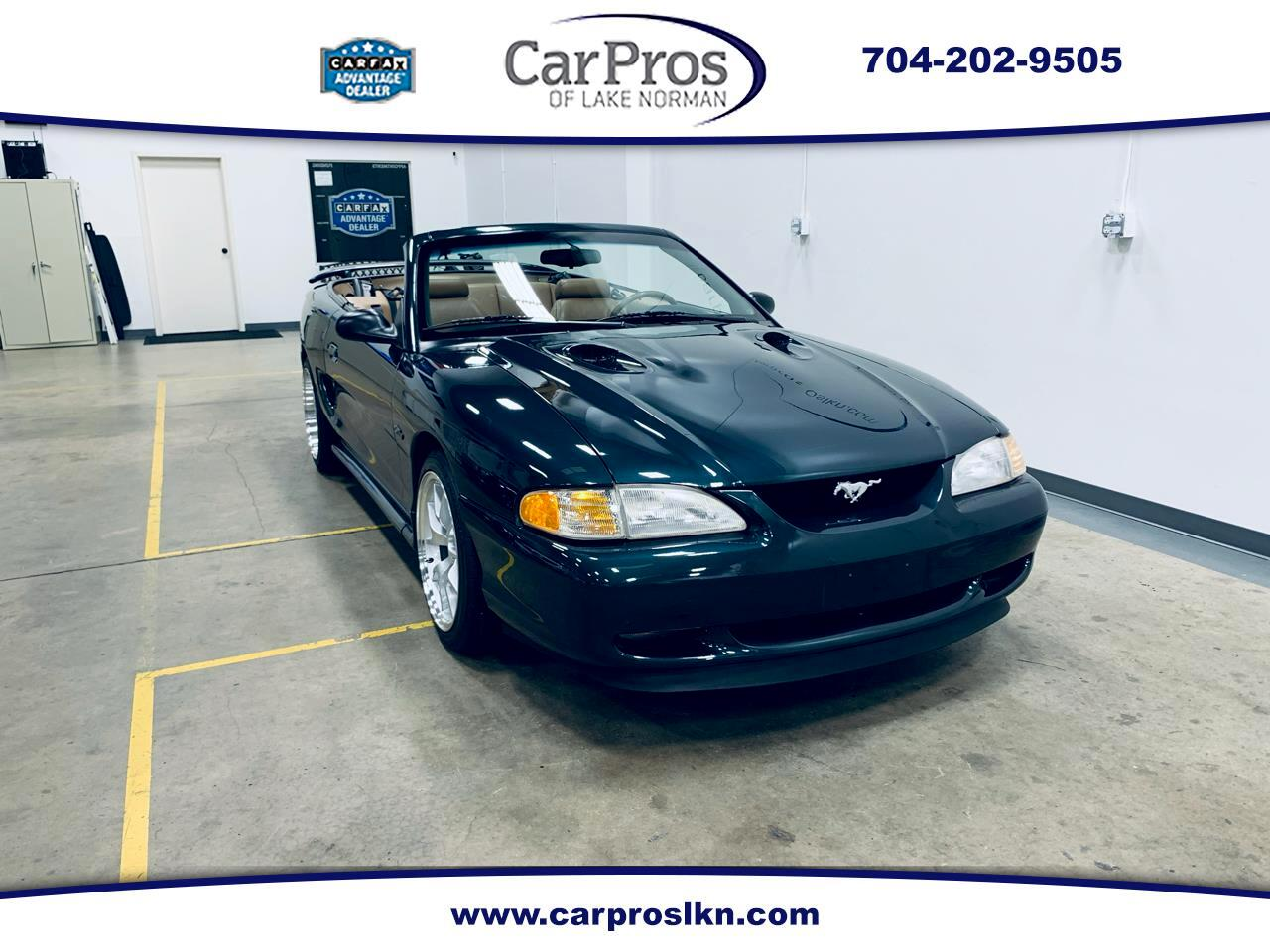 Ford Mustang 2dr Convertible GT 1998